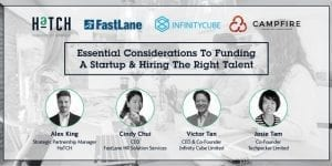 [Event]: Essential Considerations To Funding A Startup & Hiring The Right Talent - FastLane